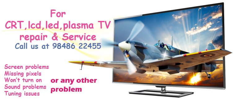 TV repair door service Hyderabad - LED